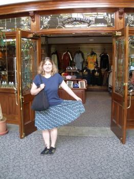 Kathy at Sierra Nevada