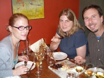 Janet, Kathy & Bryce at À Côté