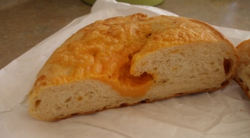 Cheese & Garlic Loaf of Bread