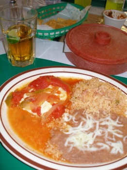 Choose one item dinner; Chile Relleno