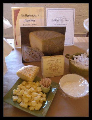 Various Products of Bellwether Farms