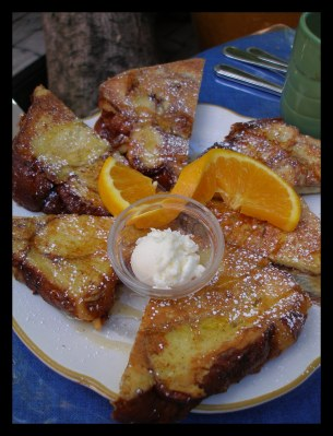French Toast at La Note