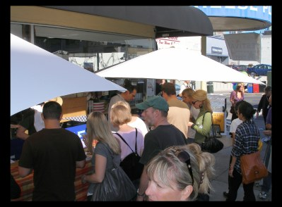 Crowds at Cheese Plus' Harvest Festival