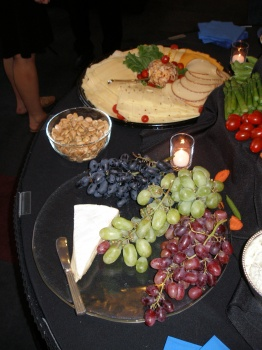 Blogger Cheese and Food Spread