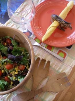Salad for Fondue