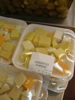 Assorted Cheese at Tops on the Waterfront!