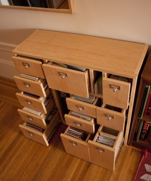 Card Catalog Case for Postcards (Photo by Dana Constance)