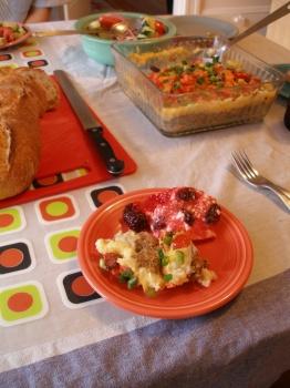 Plate of Dinner