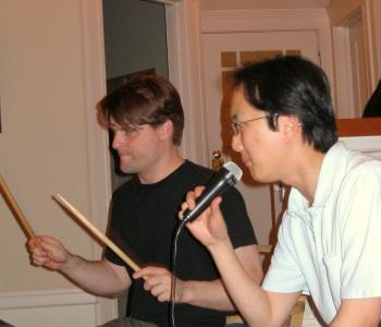 Jeff & Sang Rock Out