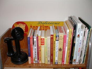 Shelf of Cheese Books